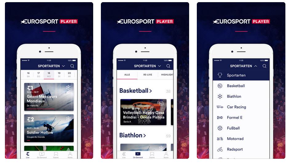 Eurosport Player Einloggen